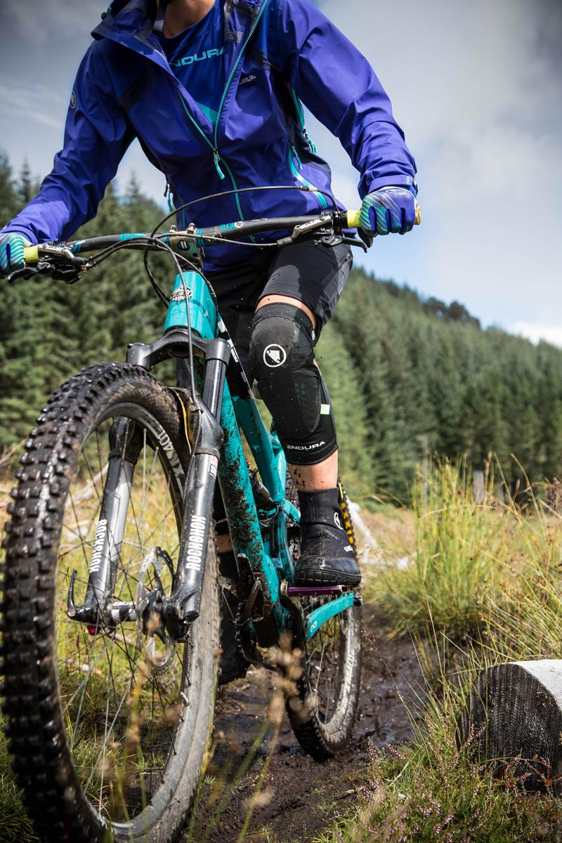 Flat Pedal Friendly Mud Protection