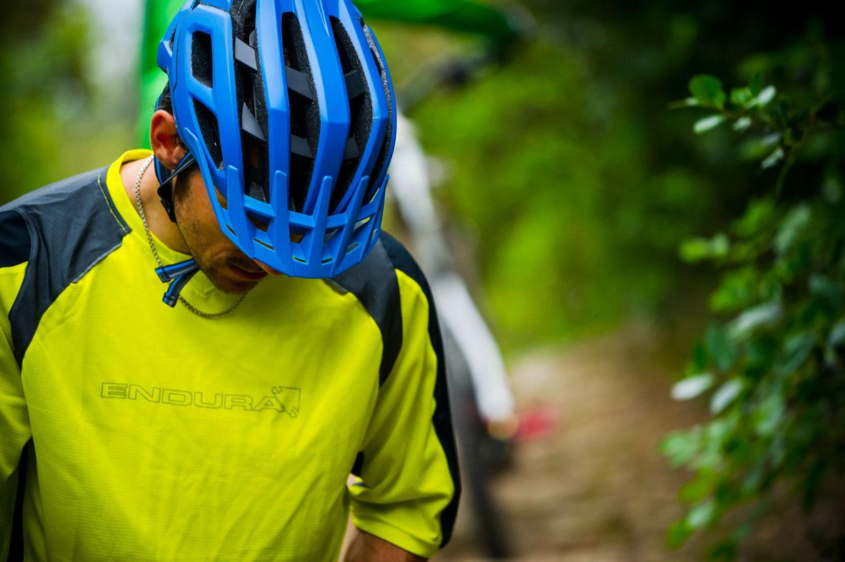 Singletrack Helmet blue