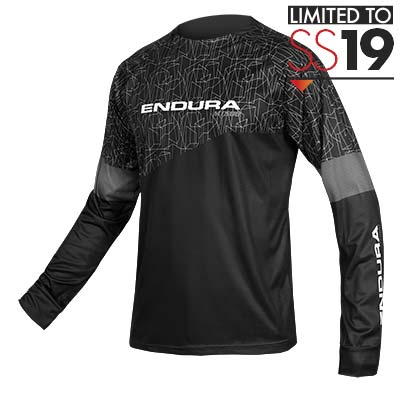 f05ba90a0 Enduro Jerseys. Endura. MT500 L S Print T - LTD. Black