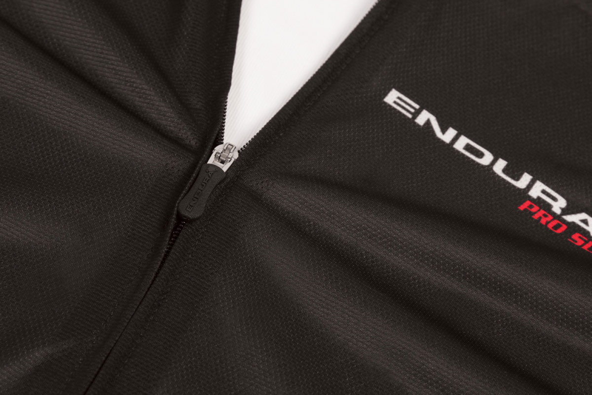 Full length concealed front zip