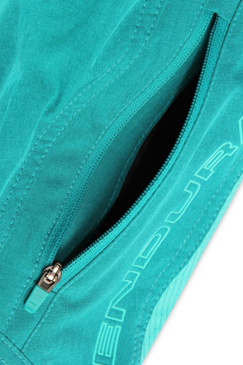 Hand pockets and zipped cargo pocket