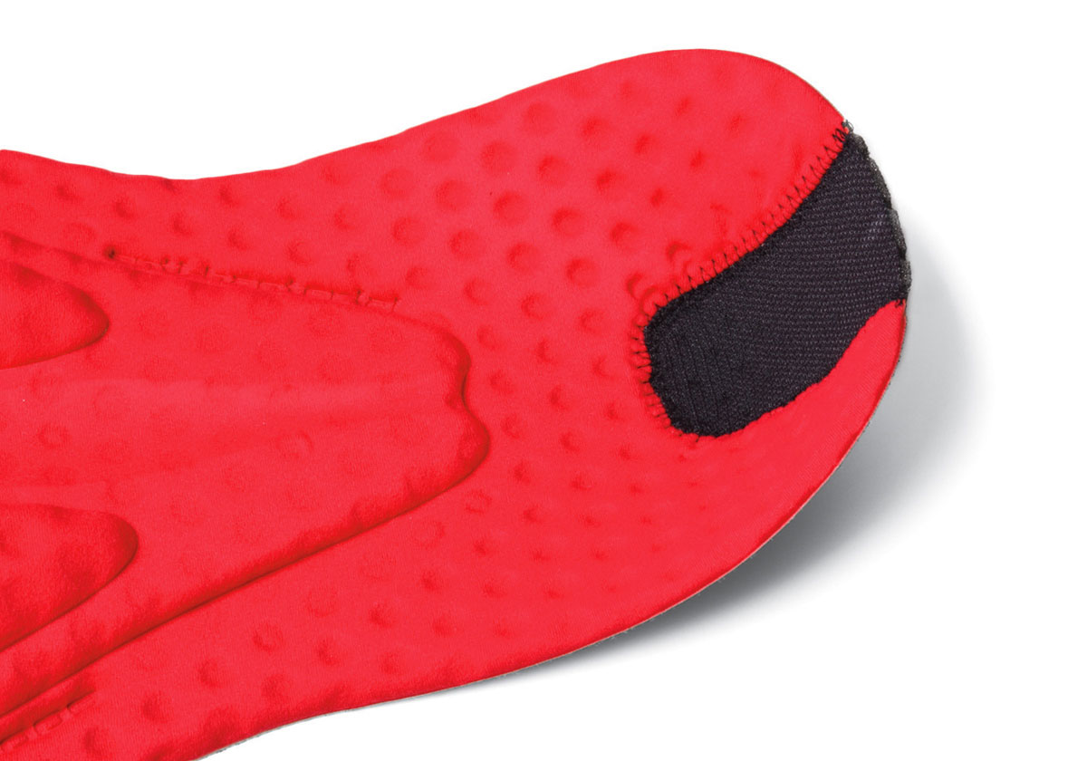 """600 series pad, computer cut """"Continuously Variable Profile"""" (CVP) stretch pad with gel inserts and antibacterial finish"""