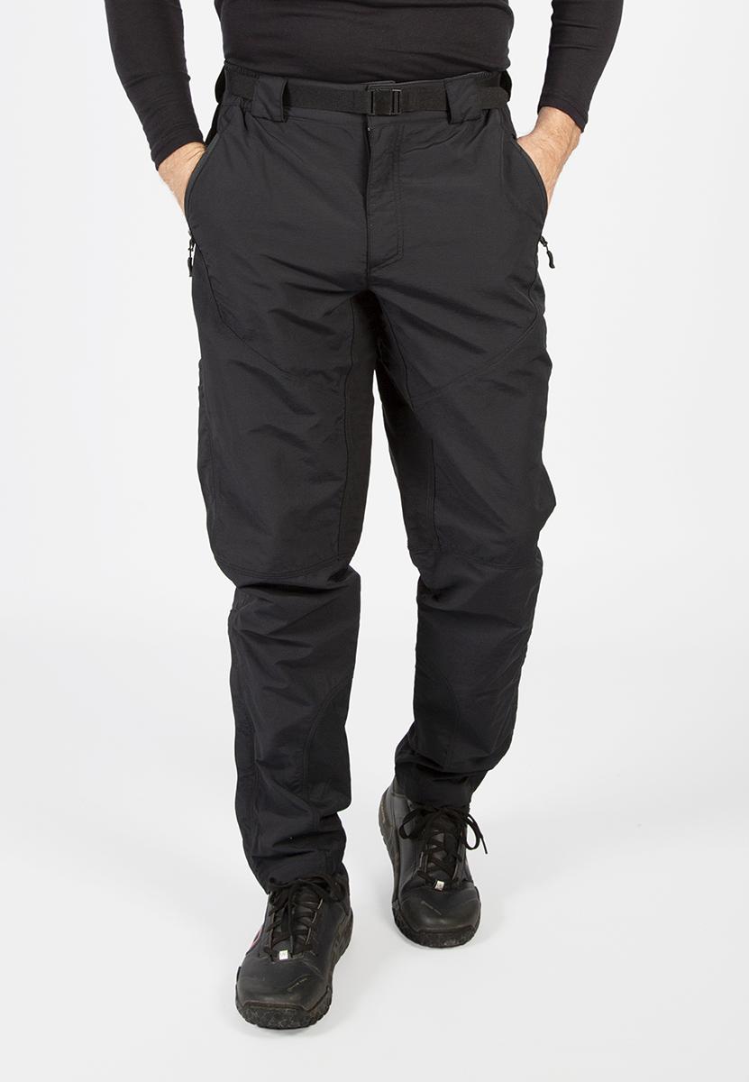 Zipped hand pockets, cargo pockets and large rear map pockets