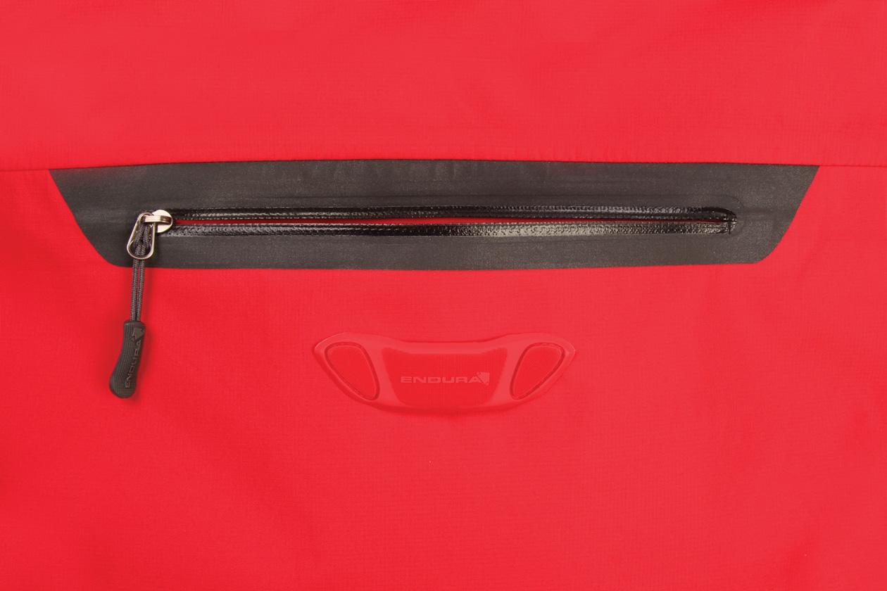 Moulded rear LED loop and rear stash pocket