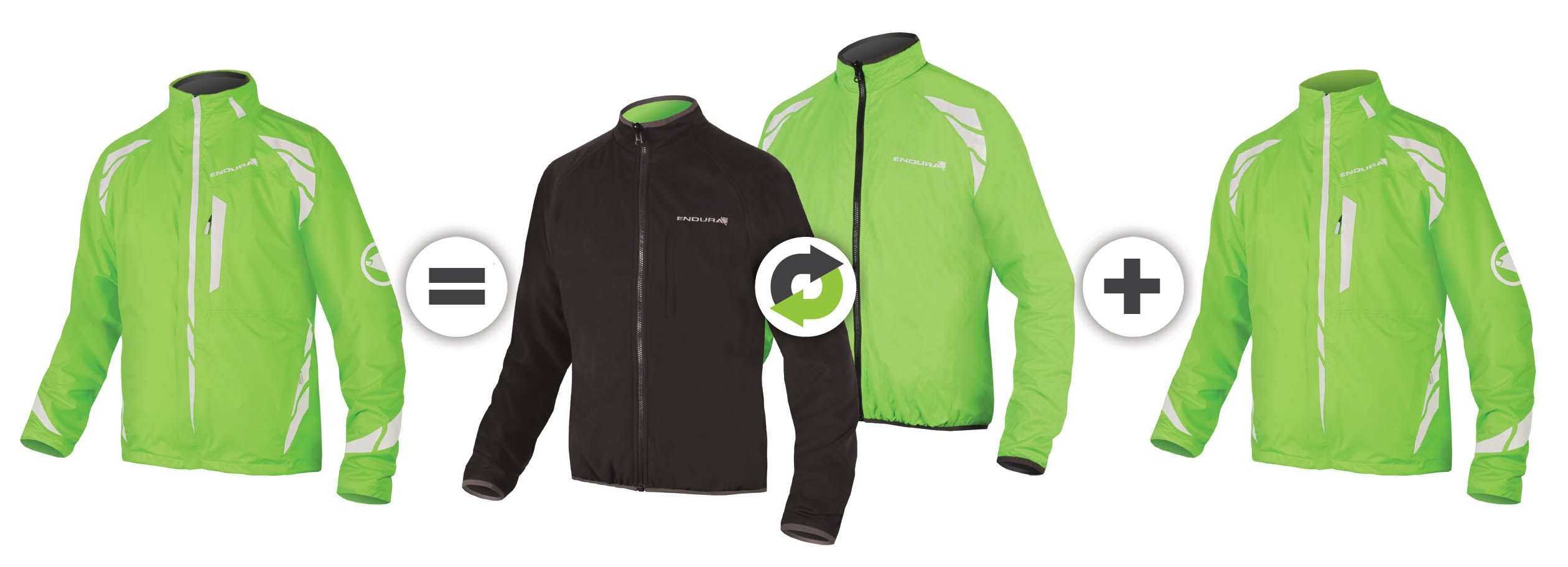 Luminite 4in1 Jacket - an all-weather solution