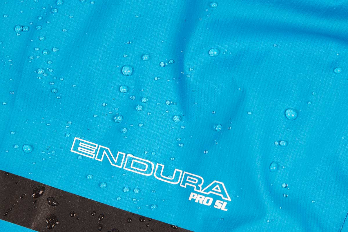 Highly breathable, lightweight ExoShell40™ 3-Layer waterproof fabric in a fully seam-sealed construction