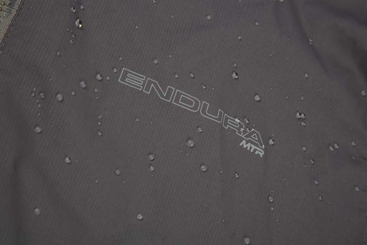 Highly breathable, lightweight ExoShell40™ 3 Layer waterproof fabric