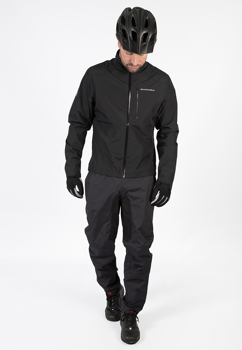 Waterproof, breathable, 2-Layer ripstop waterproof fabric in a fully seam sealed construction with fast wicking, mesh liner for comfort