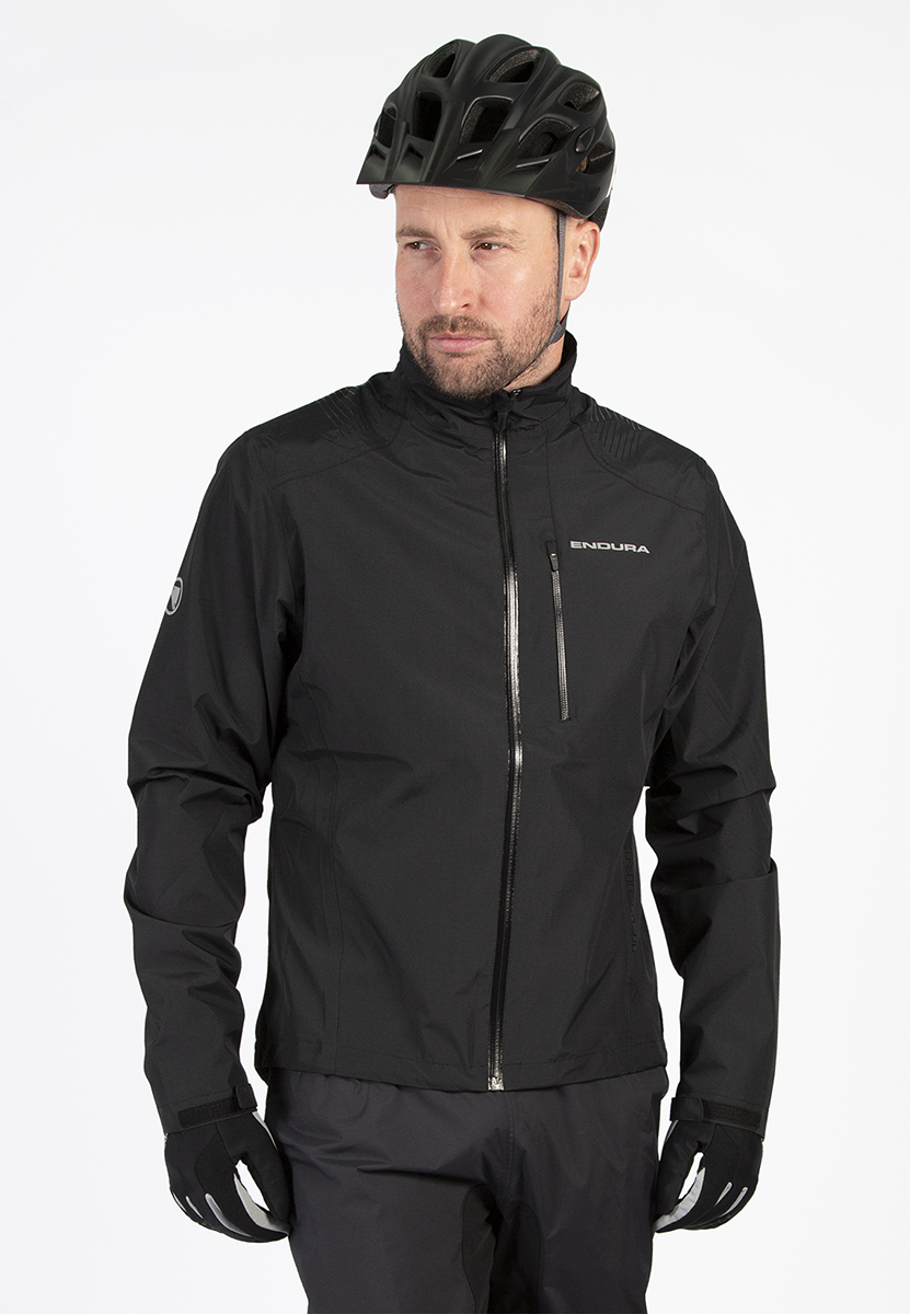 Full length storm flap inside front zip