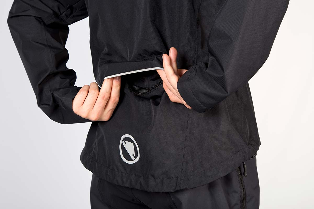Zipped Chest and rear pockets