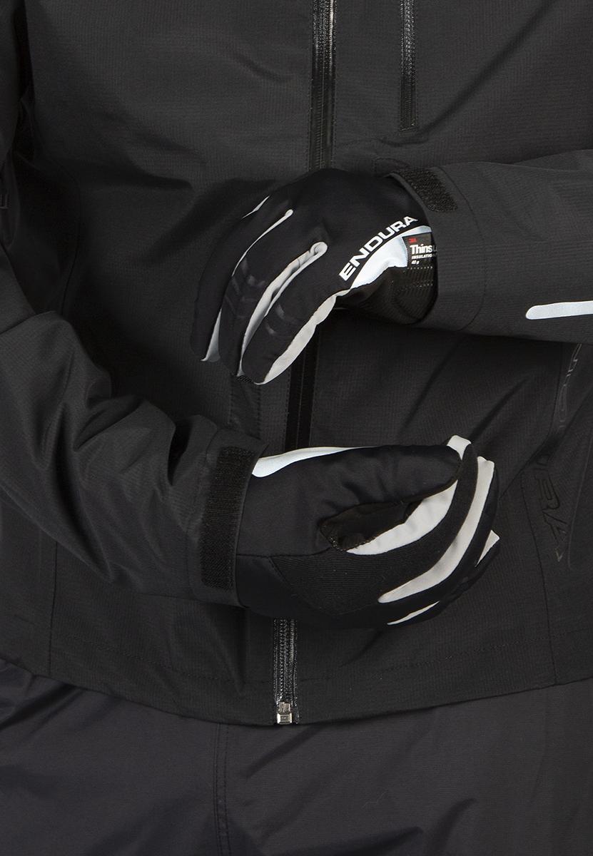Adjustable hem and Velcro® cuffs