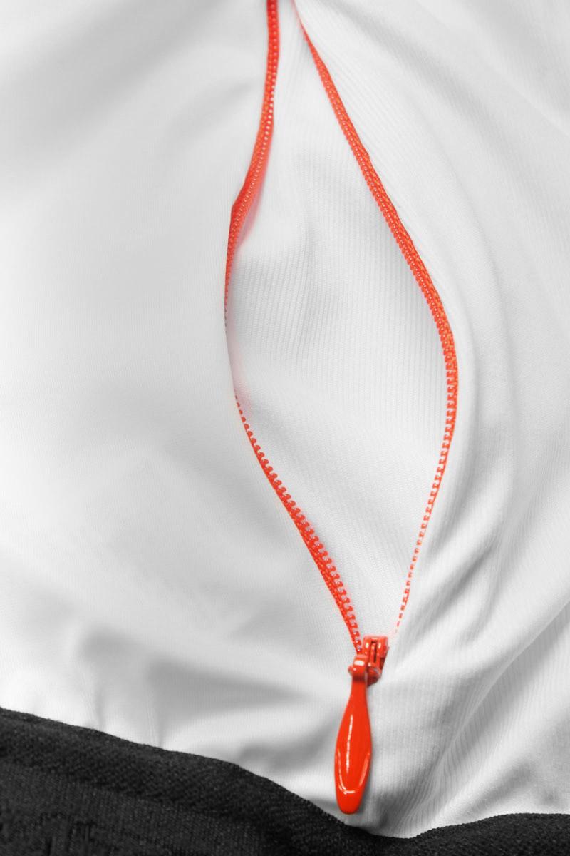 Zipped rear security pocket